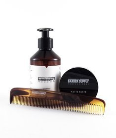 Barber Supply Professional-Matte Paste Kit Zestaw