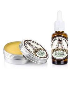 Mr Bear-Beard Balm & Oil Wilderness Kit Zestaw Brodacza
