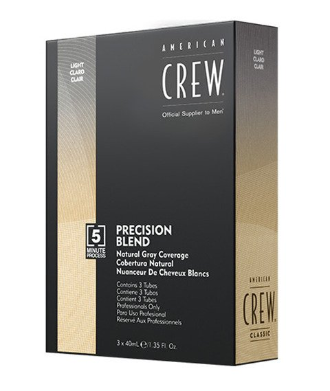 American Crew-Precision Blend Farba Odsiwiacz do Włosów 7-8 Light