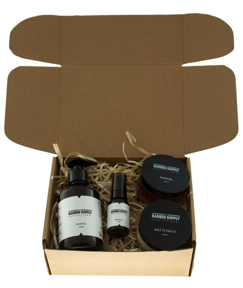 Barber Supply Professional-Pro Grooming Kit Zestaw