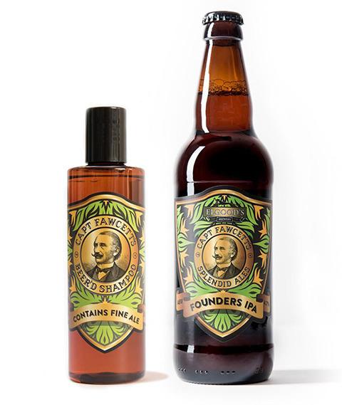Captain Fawcett's-Beer'd Shampoo Szampon do Brody z Piwem 250 ml
