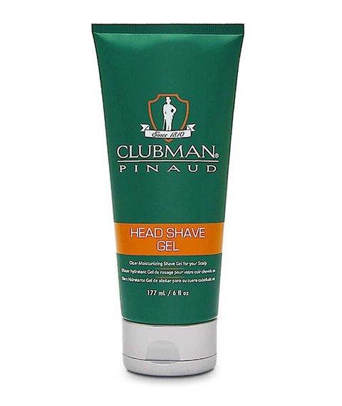 Clubman Pinaud-Head Shave Gel Żel do Golenia Włosów 177 ml
