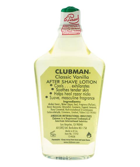 Clubman Pinaud-Vanilla Classic Aftershave 177ml