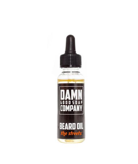Damn Good Soap-Beard Oil The Streets Olejek do Brody 25 ml