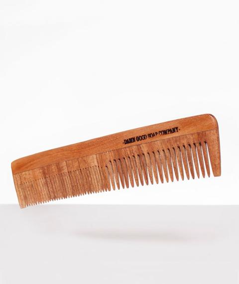Damn Good Soap-Wooden Comb Drewniany Grzebień