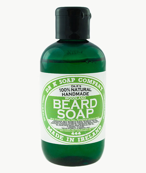 Dr. K. Soap-Beard Soap Szampon do Brody Woodland 100ml