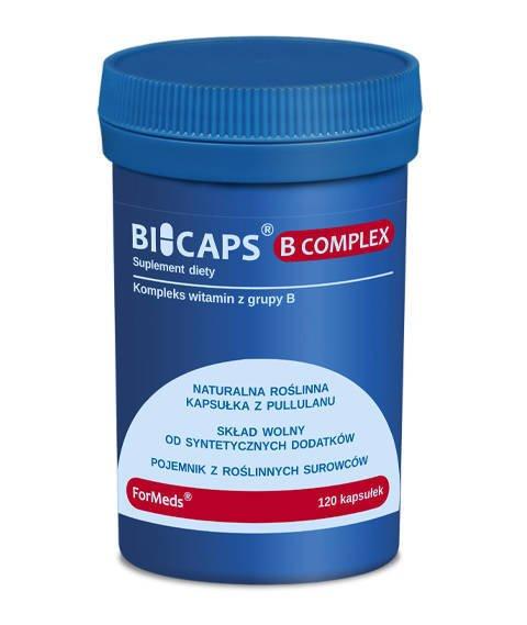 ForMeds-BICAPS B COMPLEX Suplement Diety z Witaminą B2 B6 B12 120 kapsułek
