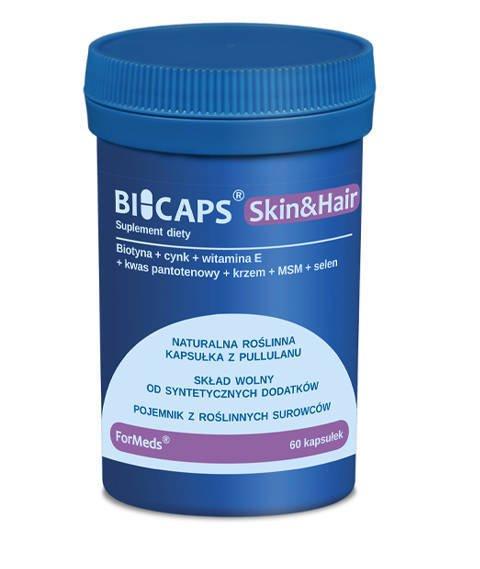 ForMeds-BICAPS Skin&Hair Suplement Diety Skóra i Włosy 60 kapsułek