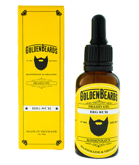 Golden Beards-Beard Oil Big Sur Olejek do Brody 30ml