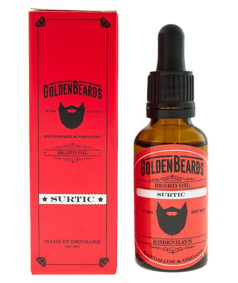 Golden Beards-Beard Oil Surtic Olejek do Brody 30 ml