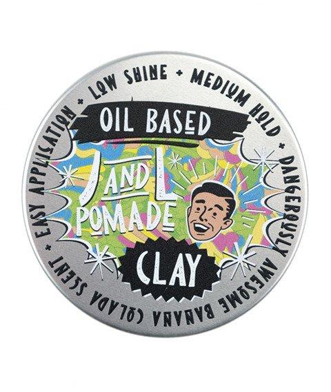 JNL POMADE-Oil Based Clay Pomada do Włosów 100 g