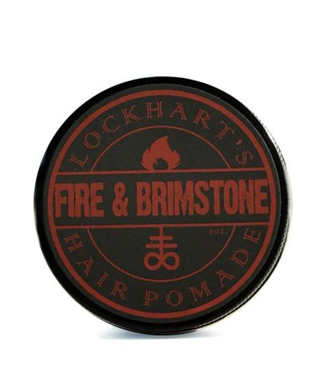 Lockhart's-Fire and Brimstone Oil Based Medium Hold Pomada do Włosów 113g