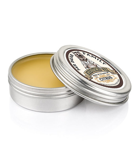 Mr Bear-Beard Stache Wax Citrus Wosk do Brody i Wąsów 30ml