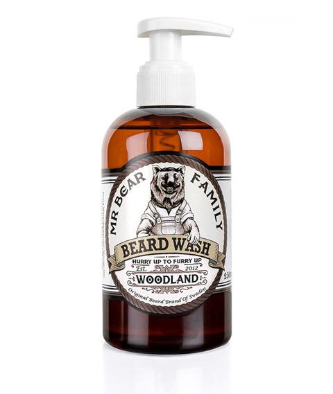 Mr Bear-Beard Wash Woodland Szampon do Brody 250 ml