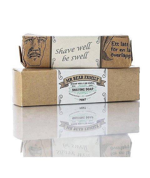 Mr Bear-Shaving Soap Mint Mydło do Golenia 80g