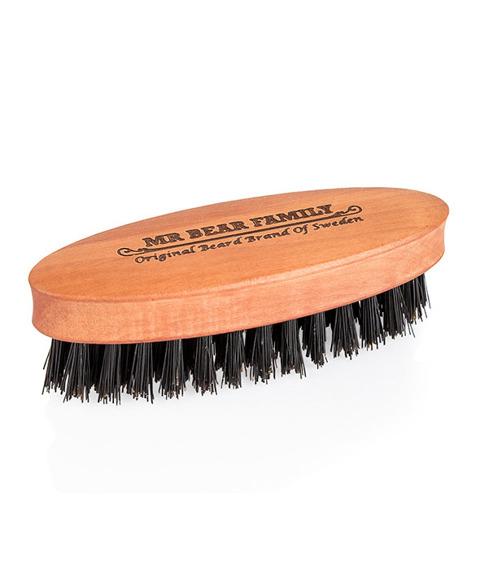 Mr Bear-Wooden Boar Beard Brush Small Szczotka do Brody