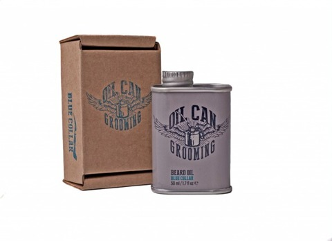 Oil Can Grooming-Blue Collar Olejek do Brody 50ml