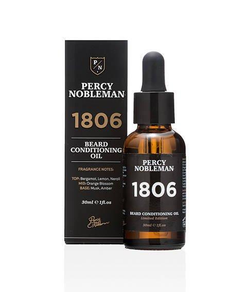Percy Nobleman-1806 Beard Oil Olejek do Brody 30ml