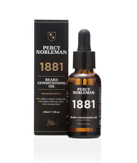 Percy Nobleman-1881 Beard Oil Olejek do Brody 30ml