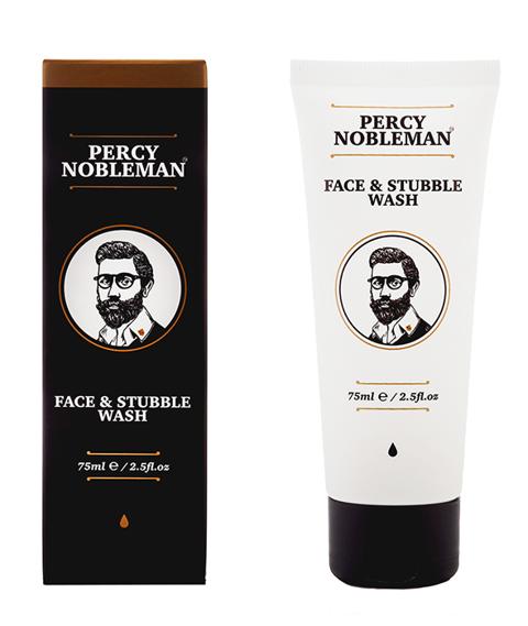 Percy Nobleman-Face & Stubble Wash Płyn do Mycia Twarzy 75ml