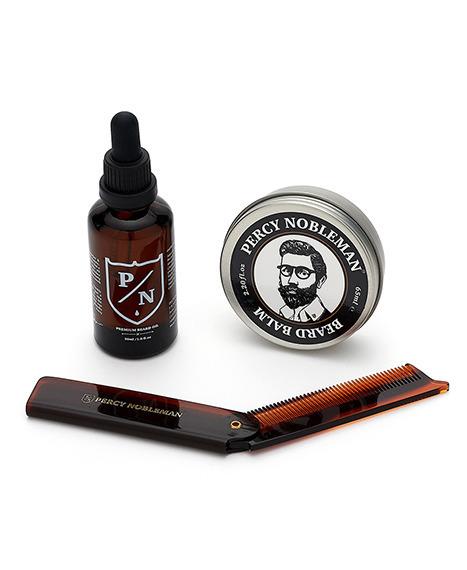 Percy Nobleman-Premium Beard Care Kit Zestaw Brodacza