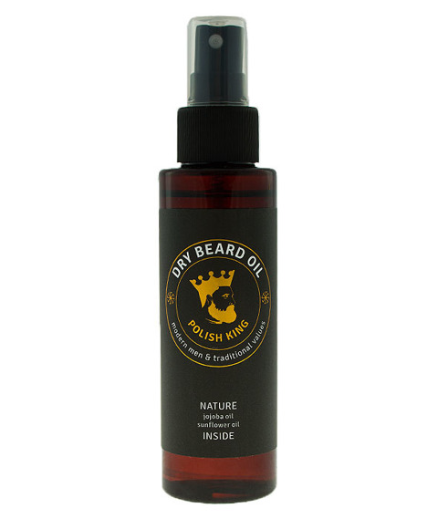 Polish King-Dry Beard Oil Olejek do Brody 100ml