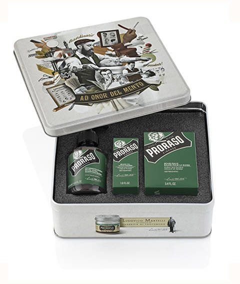 Proraso-Beard Kit Eukaliptus Zestaw do Brody