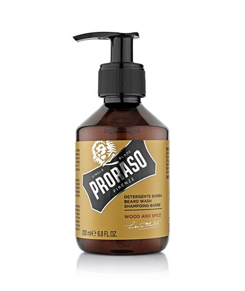 Proraso-Beard Wash Wood & Spice Szampon do Brody 200ml
