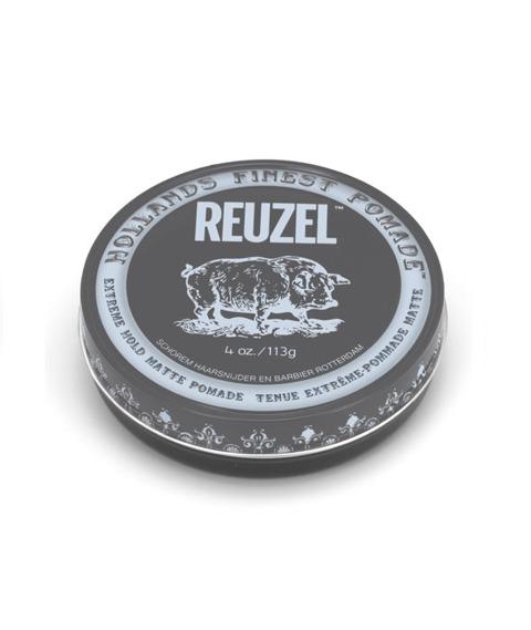 Reuzel-Extreme Hold Matte Pomade Matowa Pasta 113g