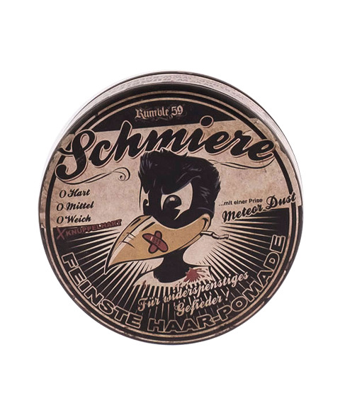 Schmiere-Rock  Hard Pomade Pomada do Włosów 140ml