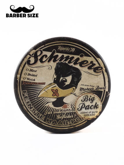 Schmiere-Rock Hard Pomade Pomada do Włosów XXL 420ml