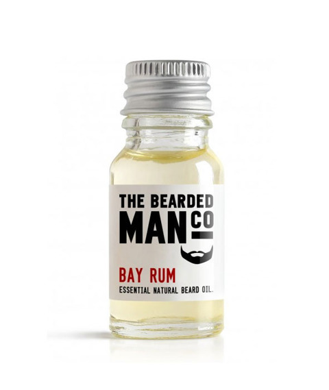 The Bearded Man-Bay Rum Beard Oil Olejek Do Brody 10ml
