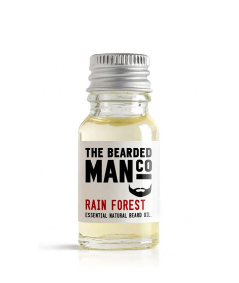 The Bearded Man-Rain Forest Beard Oil Olejek Do Brody 10ml