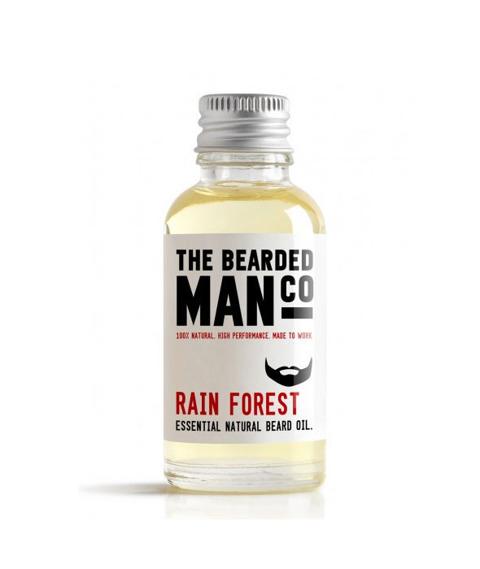 The Bearded Man-Rain Forest Beard Oil Olejek Do Brody 30ml