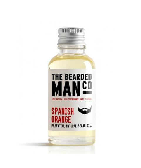 The Bearded Man-Spanish Orange Beard Oil Olejek Do Brody 30ml