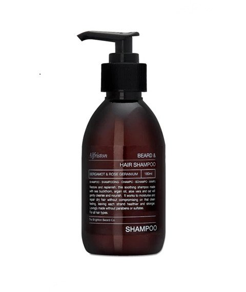 The Brighton Beard Co-Alfriston Beard & Hair Shampoo Szampon do Brody i Włosów 180ml