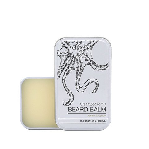The Brighton Beard Co-Creampot Tom's Beard Balm 30ml Jasmin And Lemon Balsam do Brody