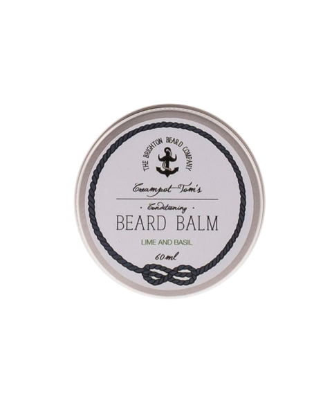 The Brighton Beard Co-Creampot Tom's Beard Balm 60ml Lime And Basil Balsam do Brody