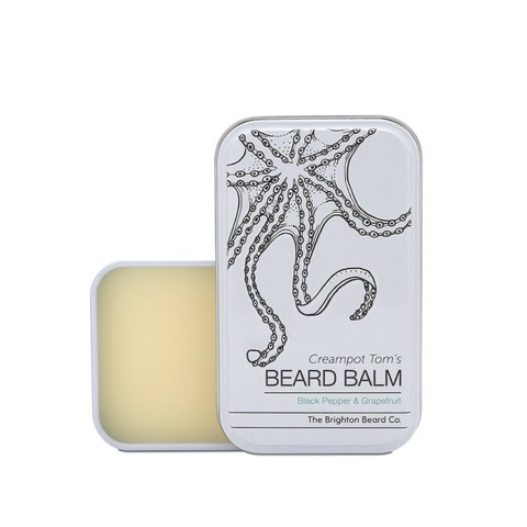 The Brighton Beard Co-Creampot Tom's Beard Balm Black Pepper & Grapefruit Balsam do Brody 40ml