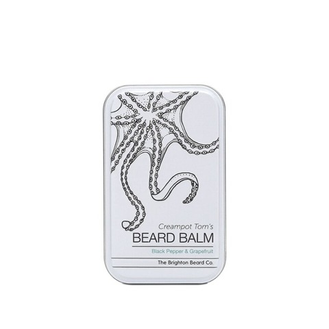 The Brighton Beard Co-Creampot Tom's Beard Balm Black Pepper & Grapefruit Balsam do Brody 80ml