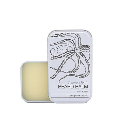 The Brighton Beard Co-Creampot Tom's Beard Balm Lime And Basil Balsam do Brody 40ml