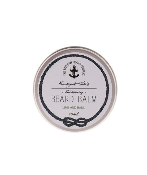 The Brighton Beard Co-Creampot Tom's Beard Balm Lime and Basil Balsam do Brody 60ml