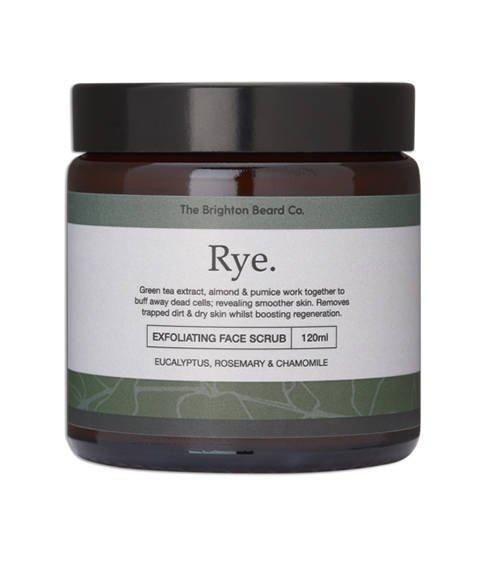 The Brighton Beard Co-Rye Exfoliating Face Scrub Peeling do Twarzy 120 ml
