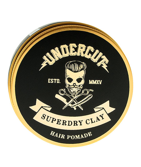 Undercut-Superdry Clay Pasta do Włosów 100ml