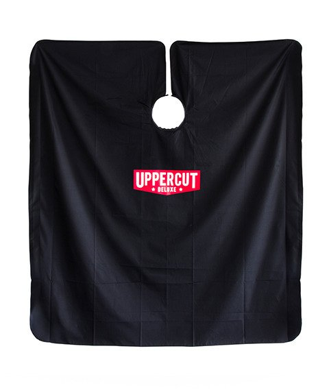 Uppercut Deluxe-Barber Cape Pelerynka Barberska Black
