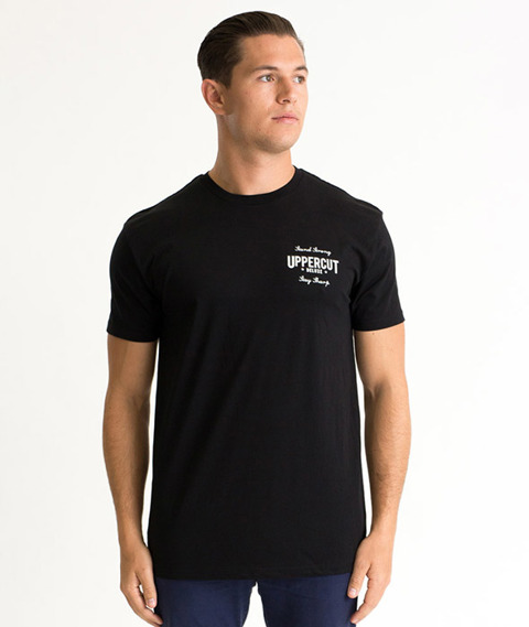 Uppercut Deluxe-Eagle T-Shirt Black