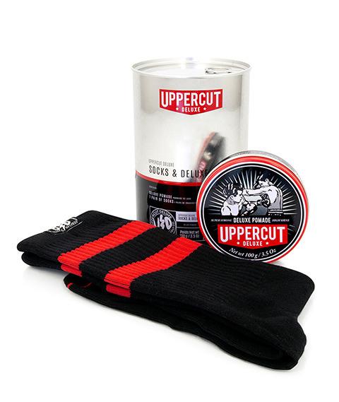 Uppercut Deluxe-Socks & Deluxe Pomade Zestaw Prezentowy